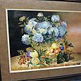 Floral Porcelain Painting