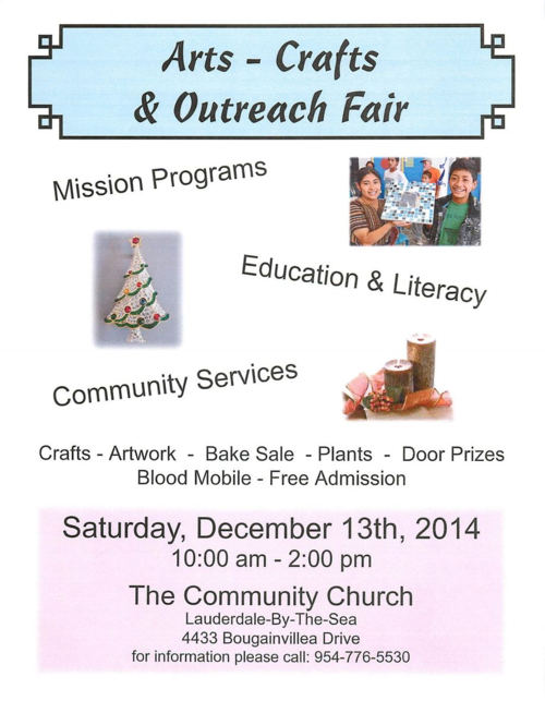 Arts-Crafts-Outreach Fair