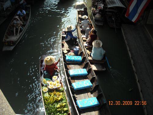 Colorful Floating Market