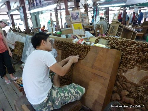 Teak Wood carvings