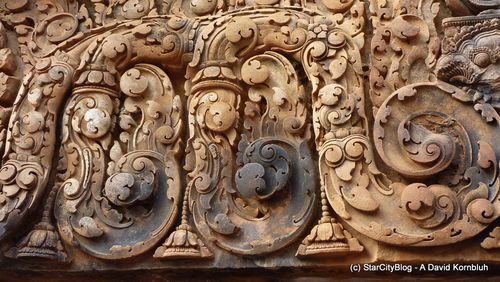Sandstone intricate carvings